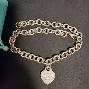 Return to Tiffany's Classic Heart Tag Necklace